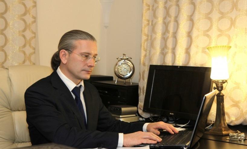 Московский адвокат Василий Бурдюг